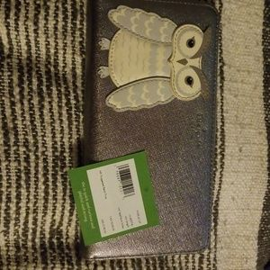 Kate Spade Owl Lacey Wallet NWT